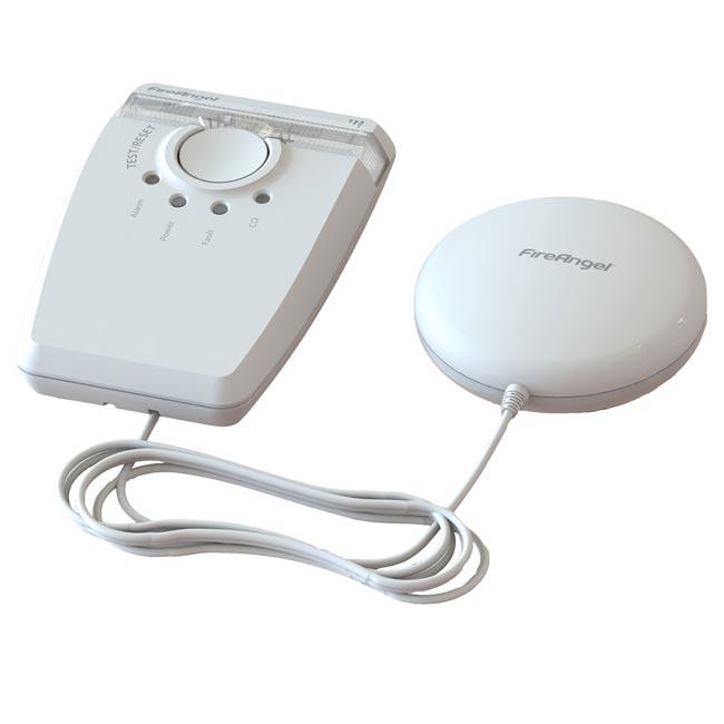 Flash & coussin vibreur W2-SVP-630-EUT pour malentendant